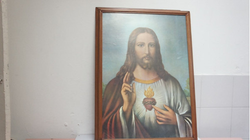 cuadro corazon de jesus