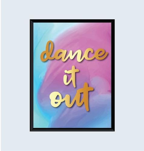 cuadro dance it out (21x30cm)