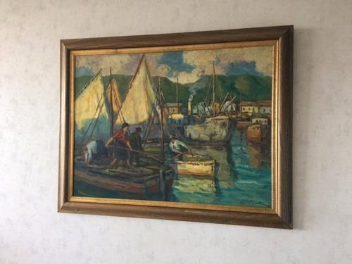 cuadro dario contreras el puerto