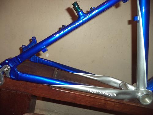 cuadro de aluminio hunter (nuevo)
