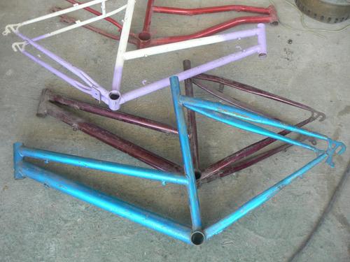 cuadro de bicicleta con horquilla. nuevos de fabrica