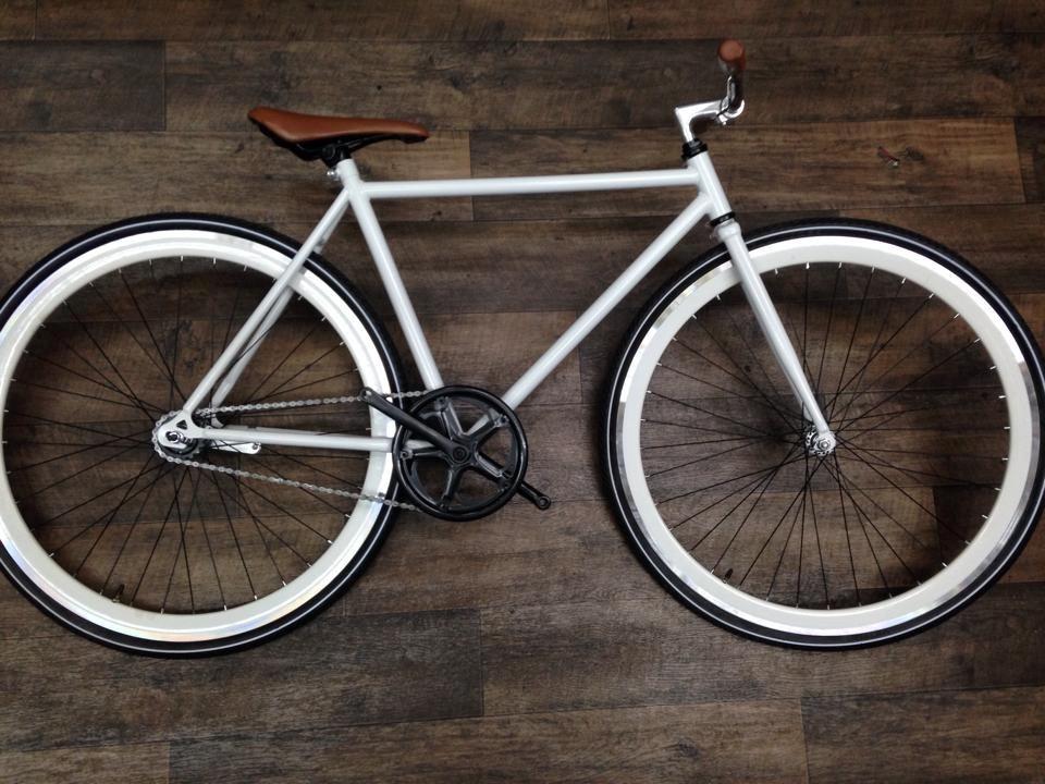 Cuadro De Bicicleta Fixie 28 Con Tijera En Acero Hi Ten - $ 550.00 ...