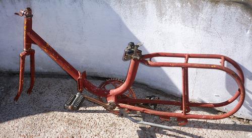 cuadro de bicicleta plegable - tengo otras