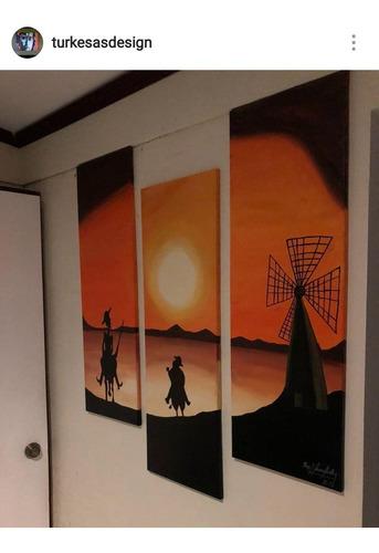cuadro de don quijote por encargo