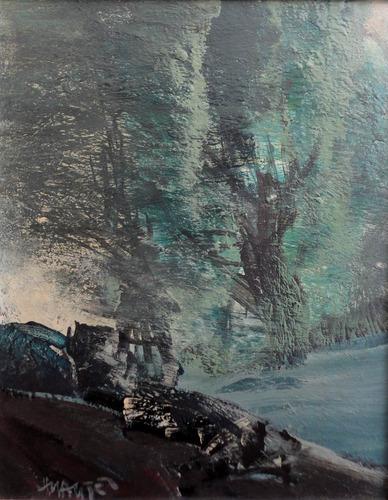 cuadro de hugo nantes, 56 x 48 cm. muy buen estado.