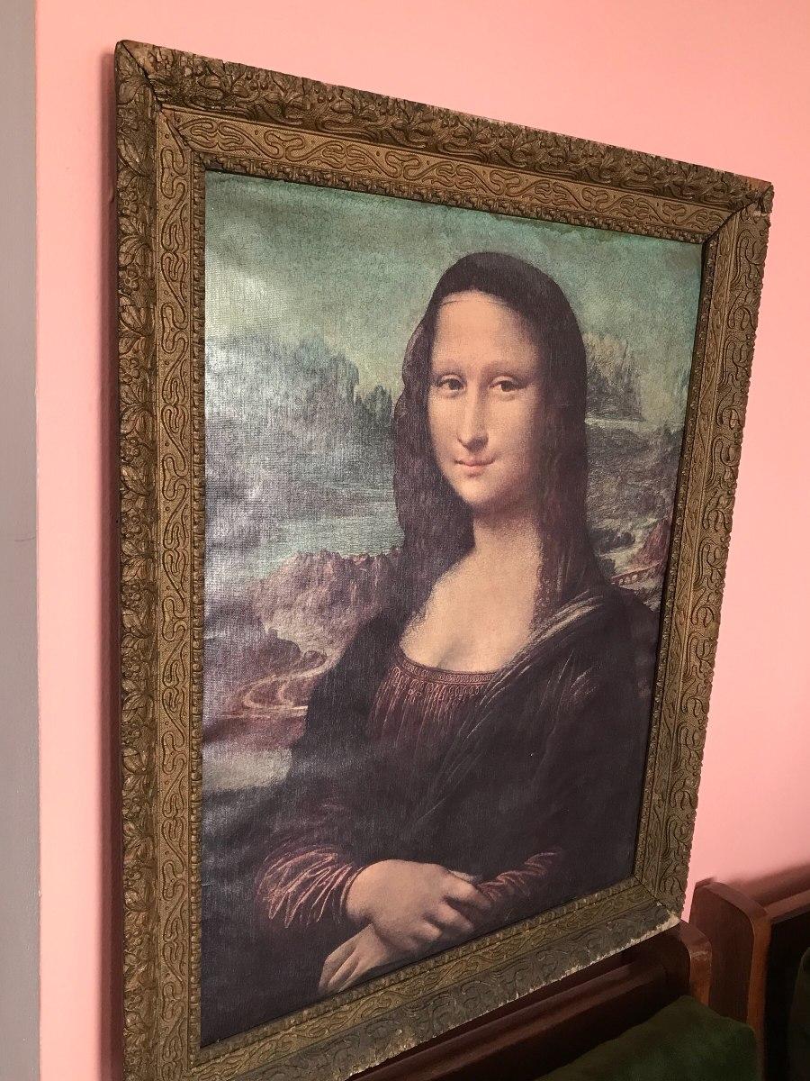 Cuadro De La Gioconda La Mona Lisa Original 28 000 00 En  # La Gioconda Muebles