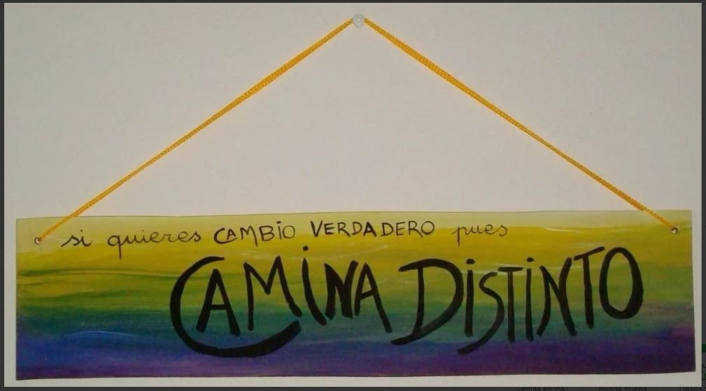 Cuadro De Madera Con Frase De Calle 13