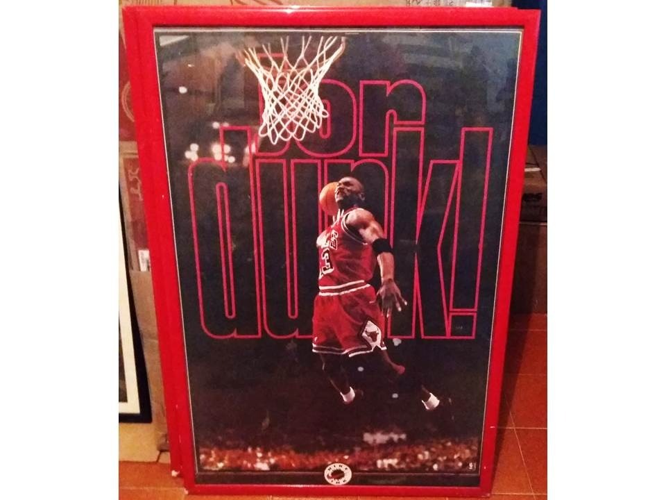 Perfecto Michael Jordan Alas Cartel Enmarcado Embellecimiento ...