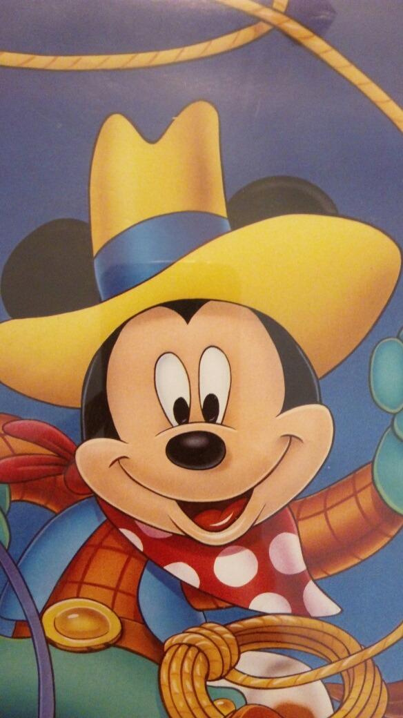 Cuadro De Mickey Mouse Vaquero - $ 250,00 en Mercado Libre
