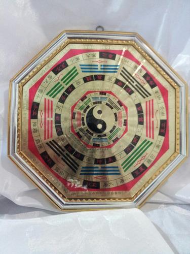 cuadro de pakua con yin yan