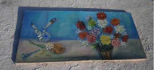 cuadro de pintura bessho para adornar tu linda  casa!!