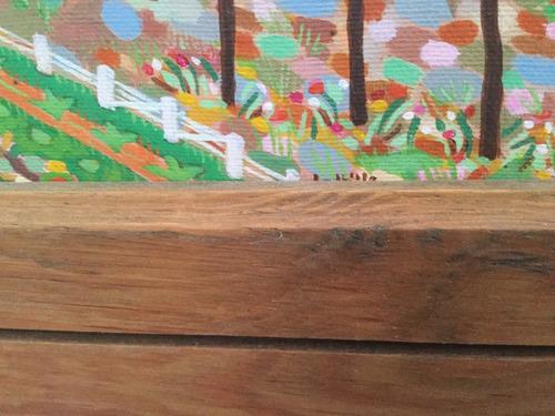 cuadro de pintura naif