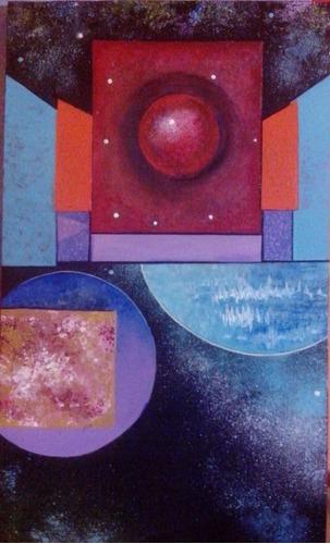 cuadro de  portal espacial