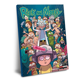 Cuadro De Rick And Morty 60 X 40