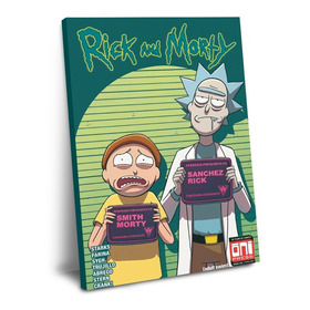 Cuadro De Rick And Morty Mod E 60 X 40