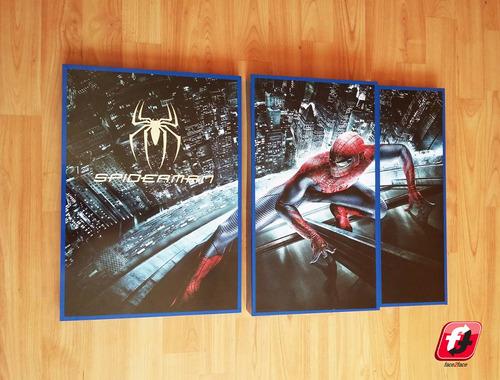cuadro de spider man