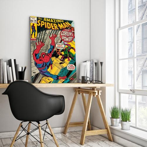 cuadro de spiderman comic 60 x 40
