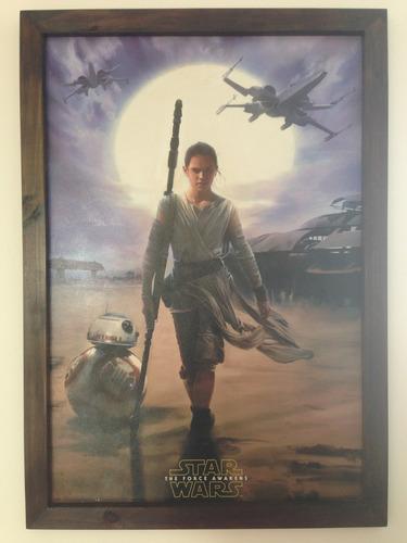 cuadro de star wars 60 por 90 cm
