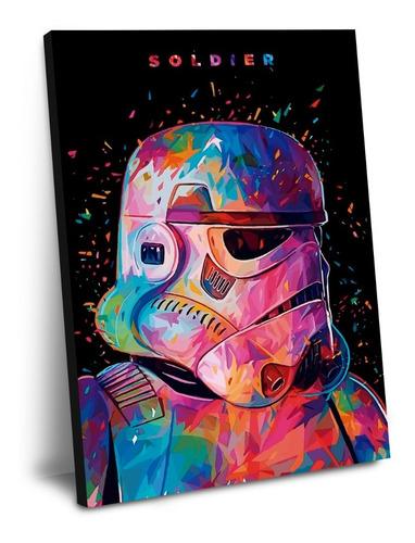 cuadro de star wars mod a 60 x 40
