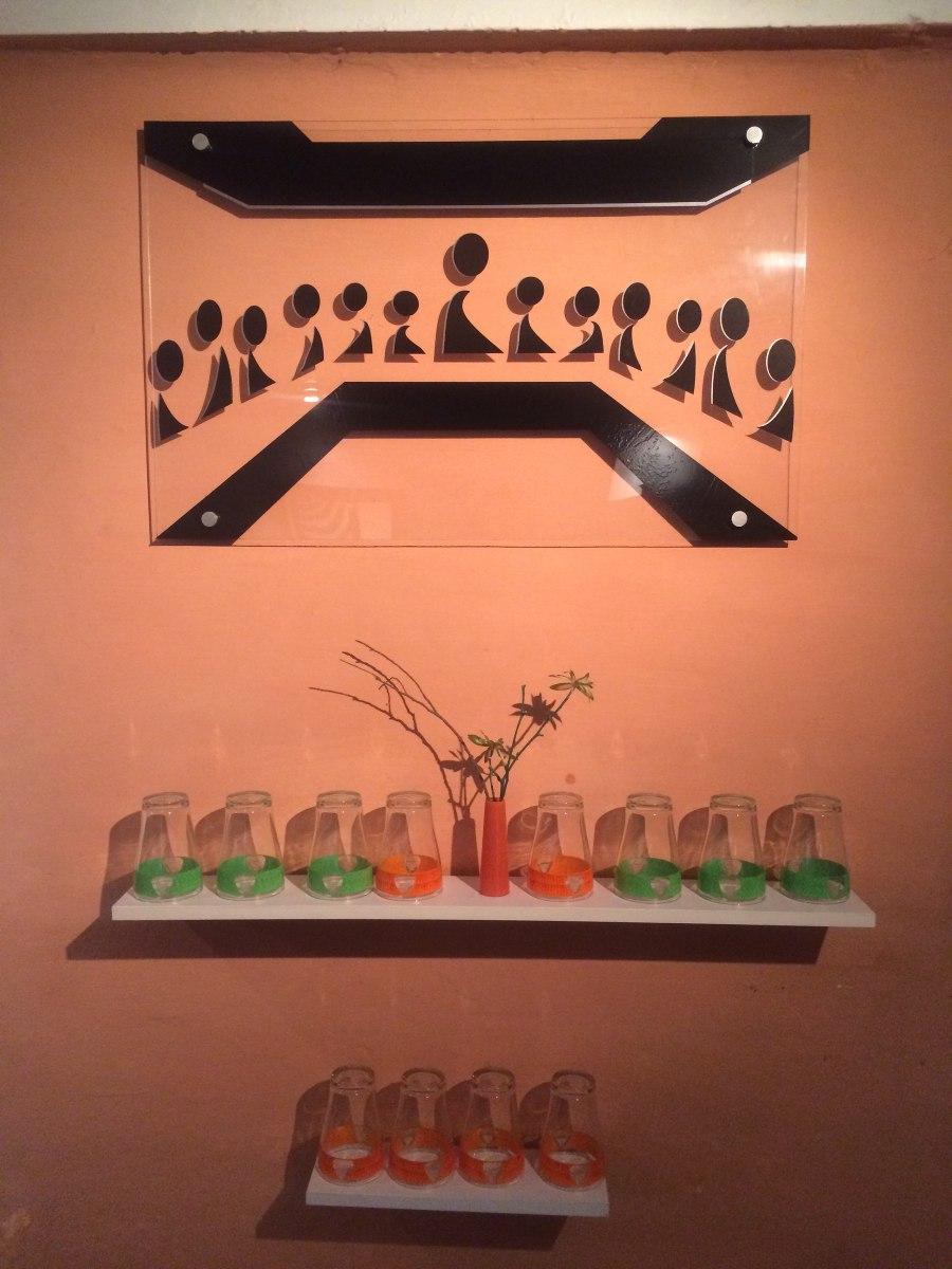 Cuadro minimalista ltima cena arte decoraci n hogar for Decoracion del hogar minimalista