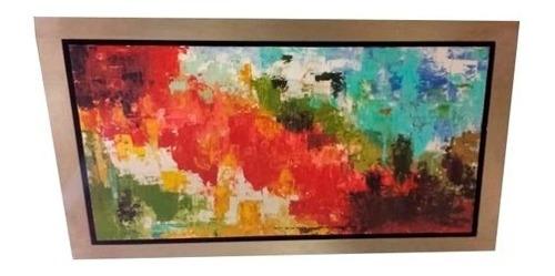 cuadro decorativo 1 pieza - abstracto color këssa muebles