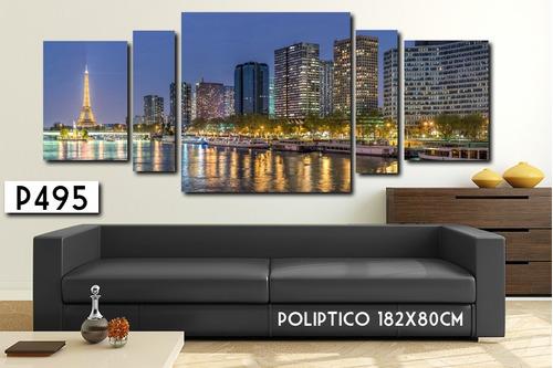 cuadro decorativo 180x80cm moderno africa paisaje mapamundi