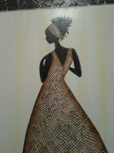 cuadro decorativo africanas