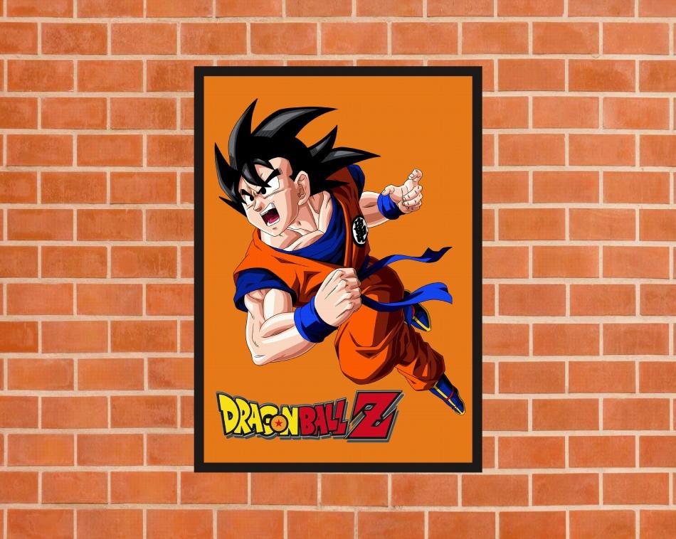 Cuadro Decorativo Con Marco Dragon Ball Z Calidad A1 - S/ 38,00 en ...