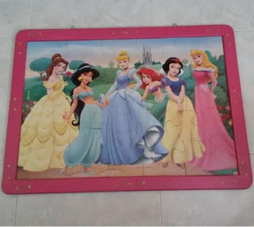 cuadro decorativo de princesas