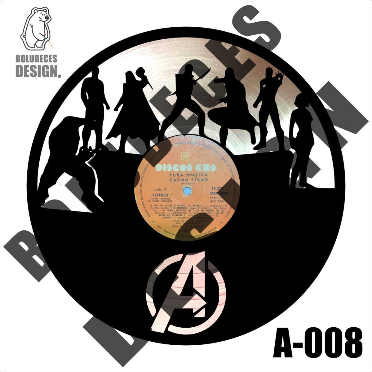 Cuadro Decorativo Disco Vinilo Diseño Evangers Exclusivos