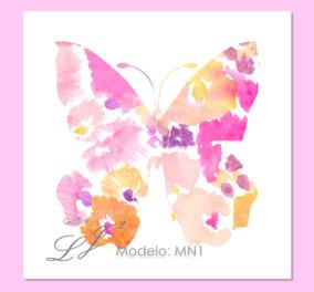 b672d1884 Cuadros Decorativos Infantiles Mariposa Ninas en Mercado Libre México