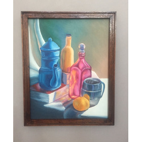 Cuadro Decorativo, Oleo Sobre Bastidor Pintado A Mano