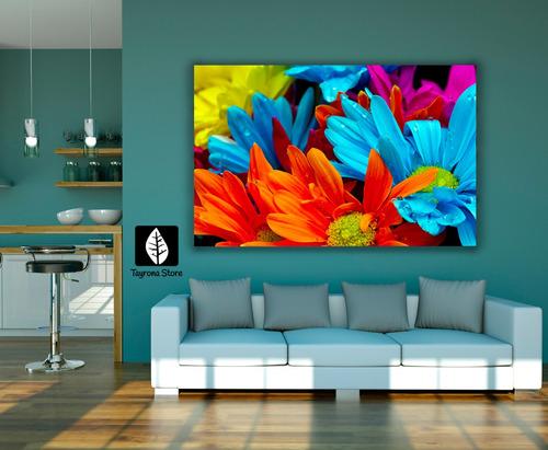 cuadro decorativo tayrona store flores 401, 70x50cm