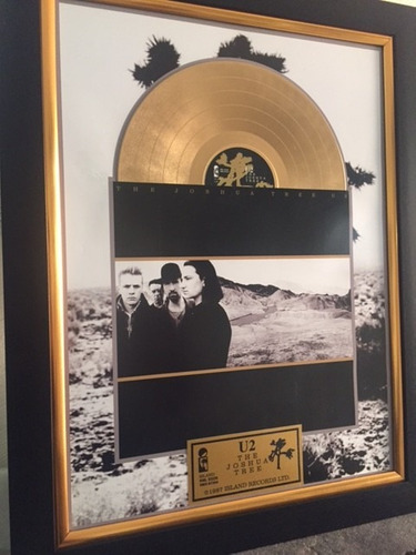 cuadro decorativo u2 joshua tree coldplay depeche mode lp