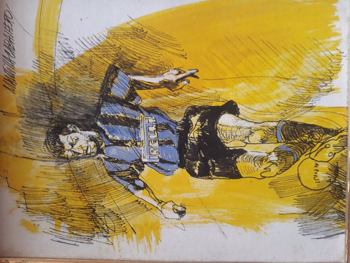 cuadro del maestro jorge mantilla caballero