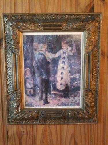 cuadro el columpio- óleo de renoir ( the swing -1876- copia)