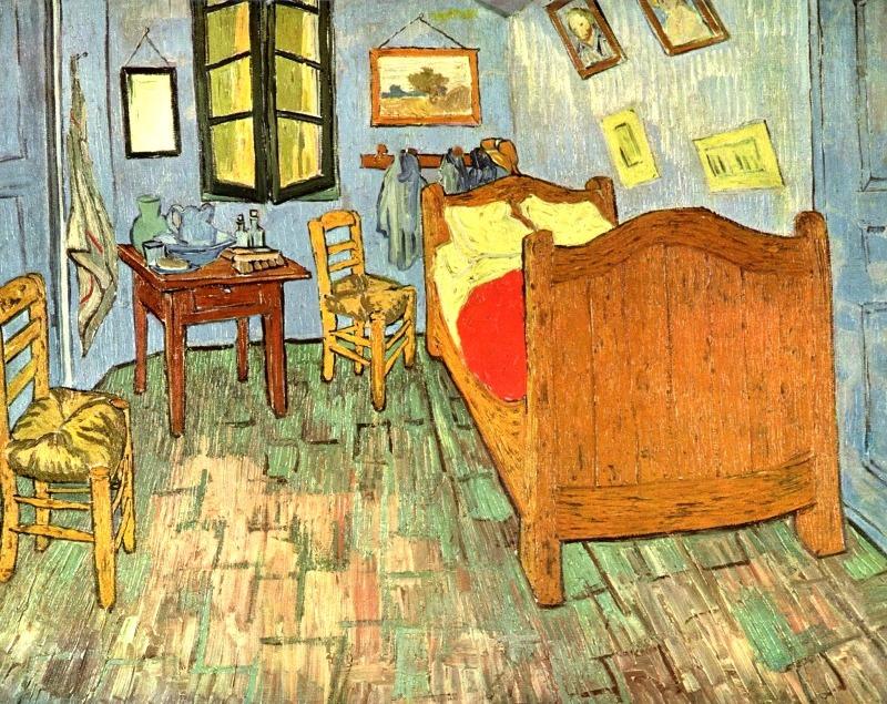 Cuadro El Cuarto De Arles Y Otras Obras Van Gogh 50x70 - $ 3.590,00 ...