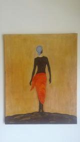 Pintura Naif En Acrilico - Cuadros Usado en Mercado Libre