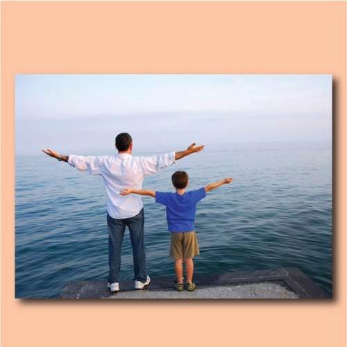 cuadro en lienzo personalizado día del padre