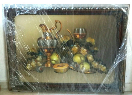 cuadro en óleo de 85x65 cm