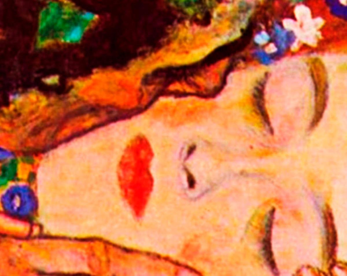 Cuadro En Tela, El Beso, Gustav Klimt, 78x98cm - $ 1,400.00 en ...