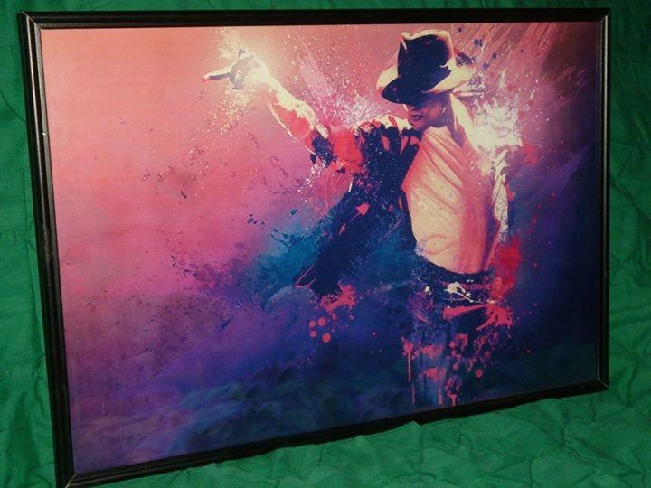 Cuadro Enmarcado De Colección De Michael Jackson* 8 - Bs. 28.000.000 ...