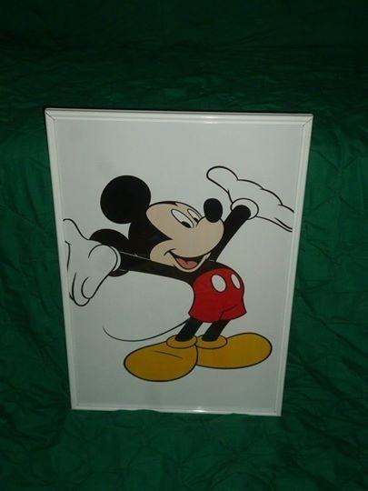 Cuadro Enmarcado De Disney, Mickey Mouse, Modelo 1 - Bs. 11.000.000 ...