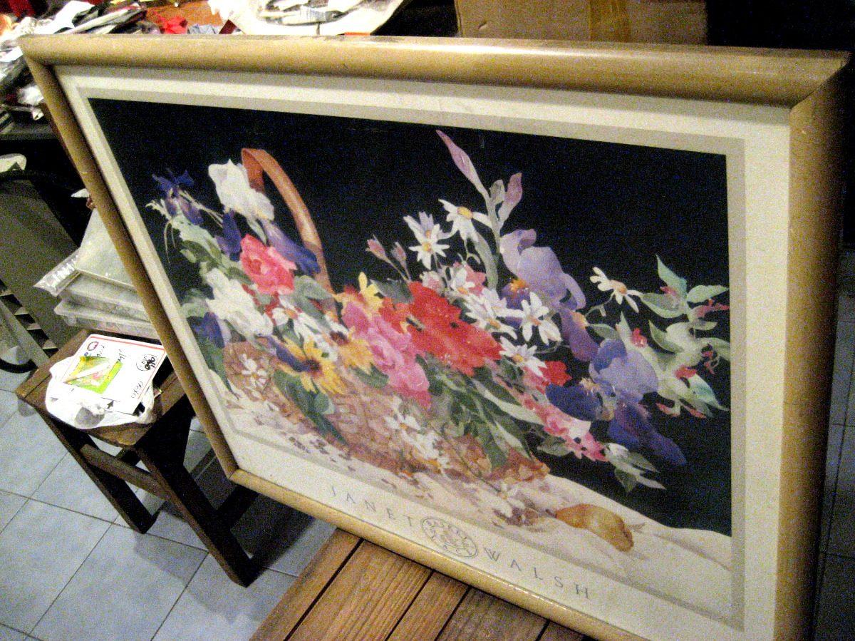 Cuadro Enmarcado, Flores De Janet Walsh, Pintura Arte, Paint - $ 420 ...
