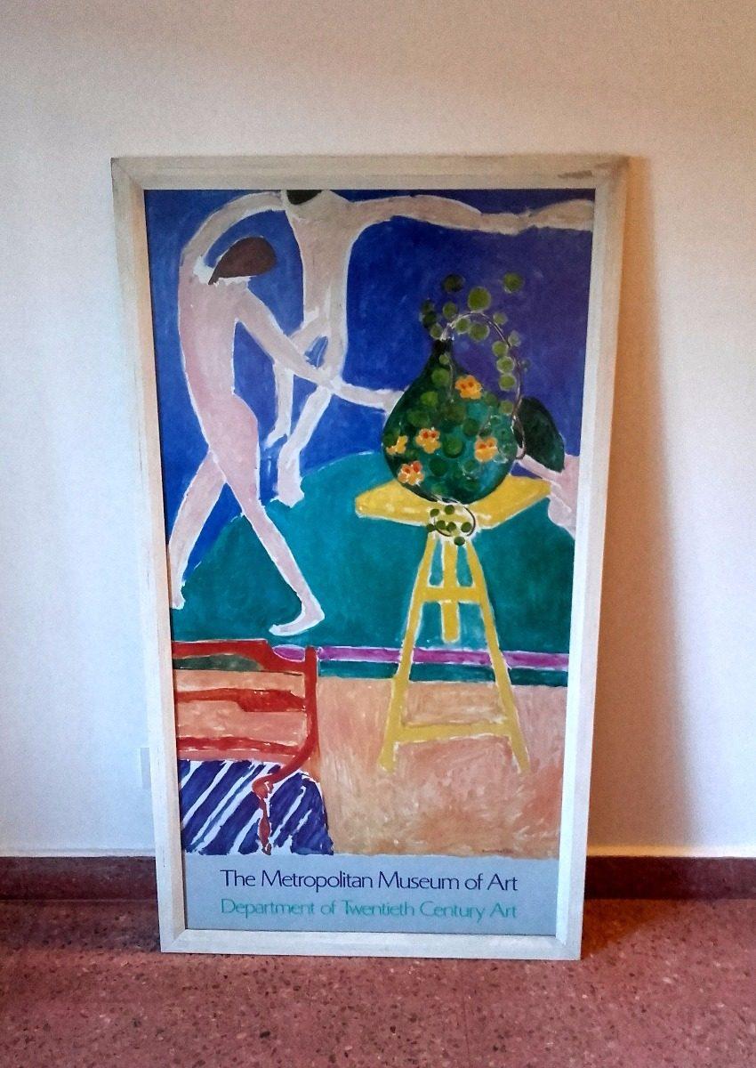 Cuadro Enmarcado Vidrio Antireflejo Henri Matisse 130x72cm - $ 900 ...