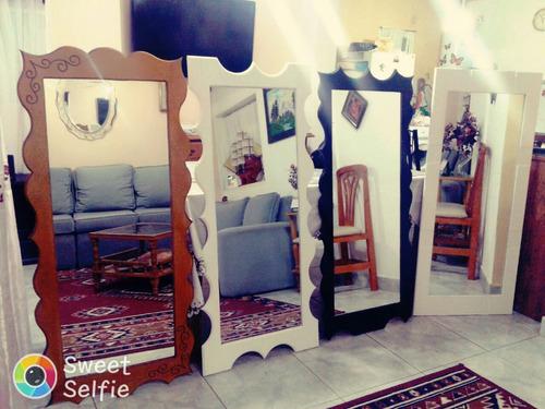 cuadro espejo artesanal