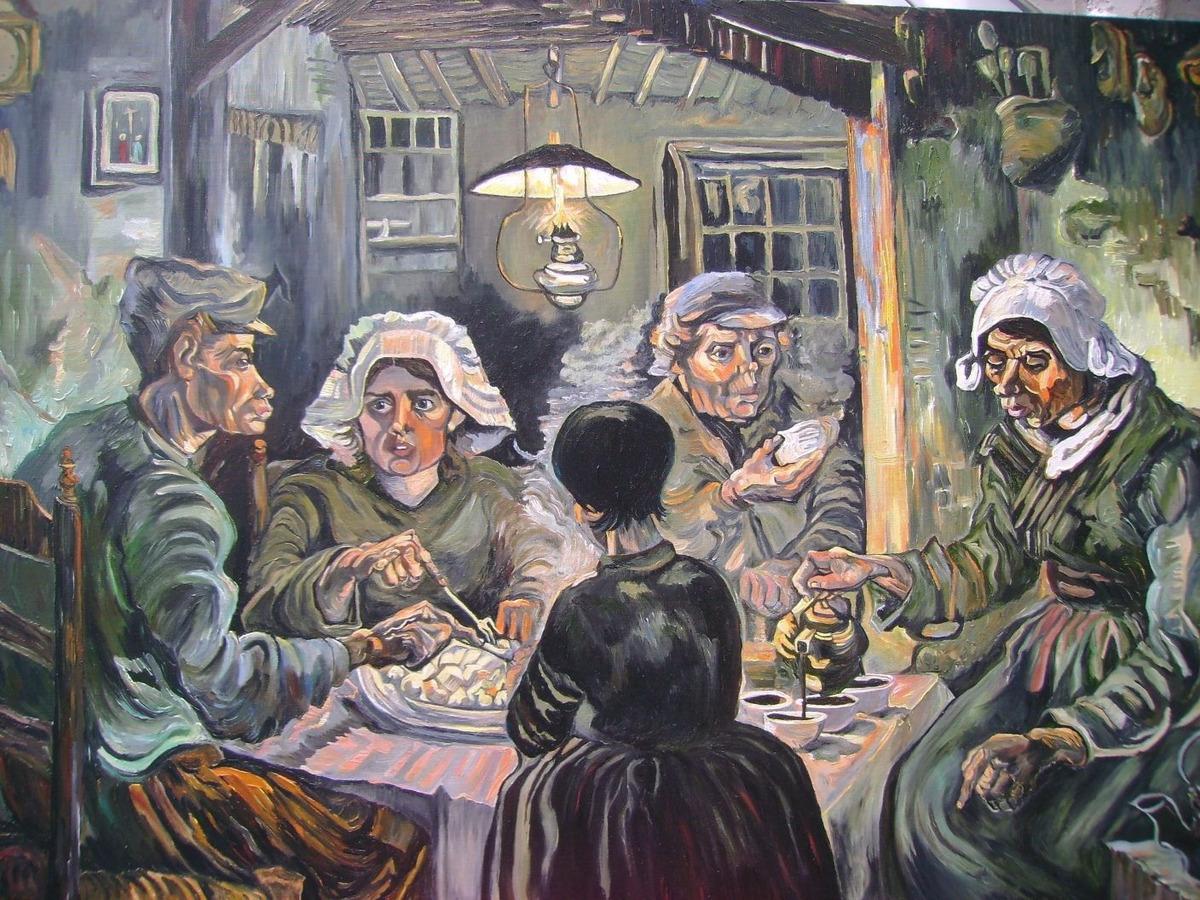Cuadro Famoso Los Comedores De Patatas Y Otros Van Gogh
