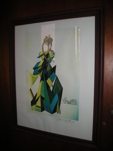 cuadro figura de mujer
