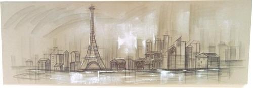 cuadro francia oleo grande de 1.50 mts vianney envio gratis