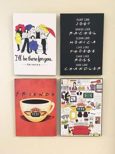 cuadro friends a elección (cada uno 20x28 cm)